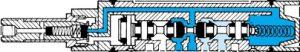 Schnittdarstellung Univer AE-1000
