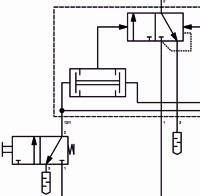 Pneumatikplan Ausschnitt