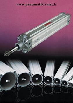 Pneumatikzylinder ISO 6431 / ISO 15552