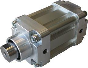 Sonderzylinder mit verstärkter Kolbenstange