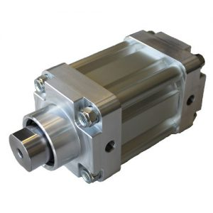 Pneumatik Sonderzylinder mit verstärkter Kolbenstange